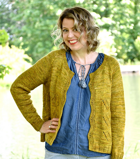Foxtrot Cardigan by Olive Knits
